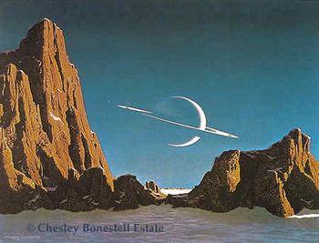 Chesley Bonestell.
