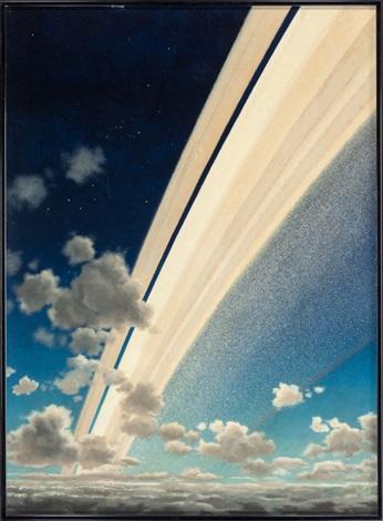 Rings of Saturn by Chesley Bonestell on artnet.