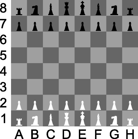 Portablejim D Chess Set Chessboard clip art Free Vector / 4Vector.