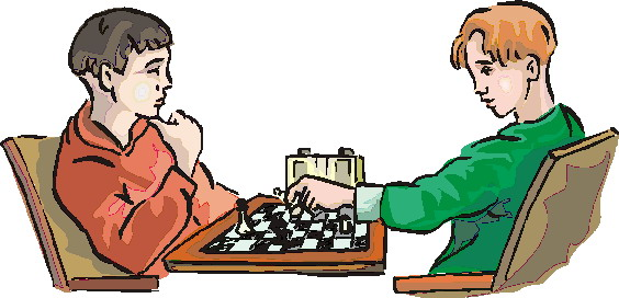 Chess player clipart #4