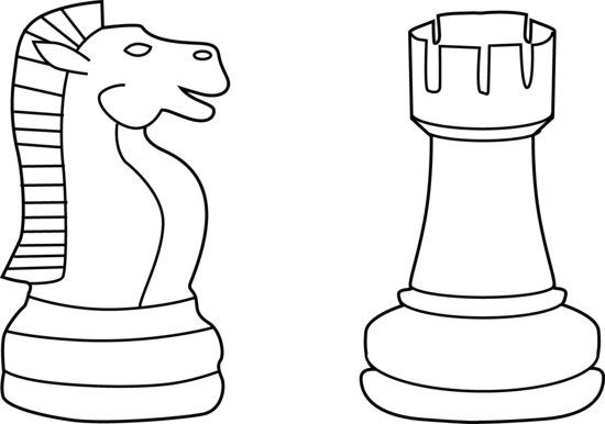 Free Chess Clipart Black And White, Download Free Clip Art.