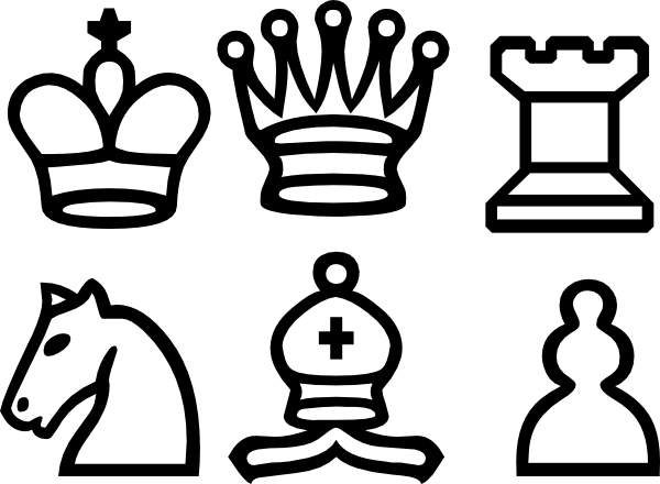 Clip art chess pieces gallery.