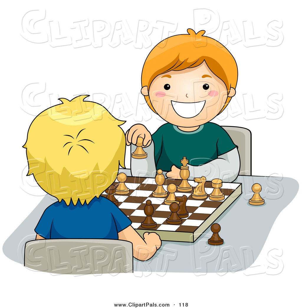 Chess Game Clipart.