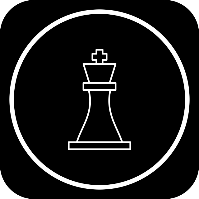 Chess Icon For Your Project, Chess, Figure, King PNG and Vector with.
