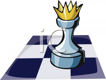 A Chess King.