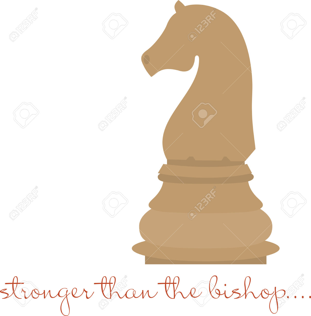 Use This Knight Piece For A Chess Master. Royalty Free Cliparts.