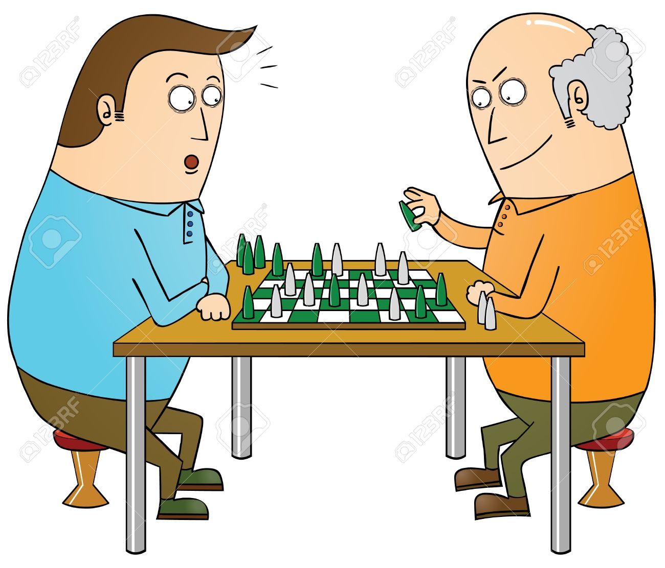 Chess Master Royalty Free Cliparts, Vectors, And Stock.