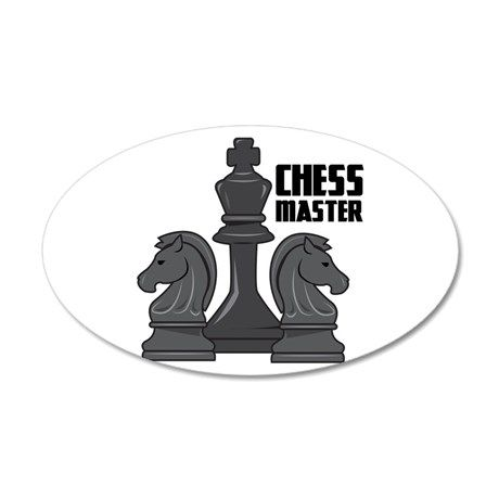 Chess Master Wall Decal.