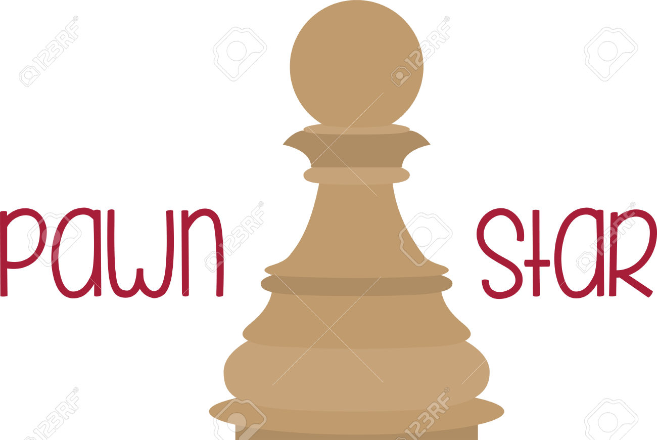 Use This Pawn Piece For A Chess Master. Royalty Free Cliparts.