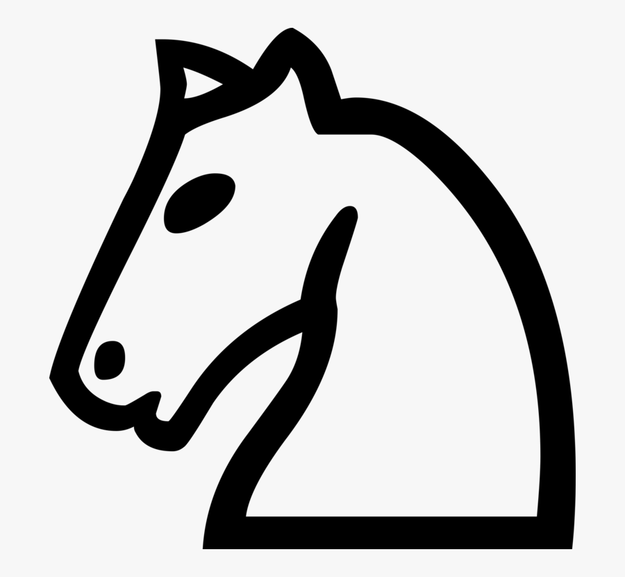 Chess Knight Clipart.