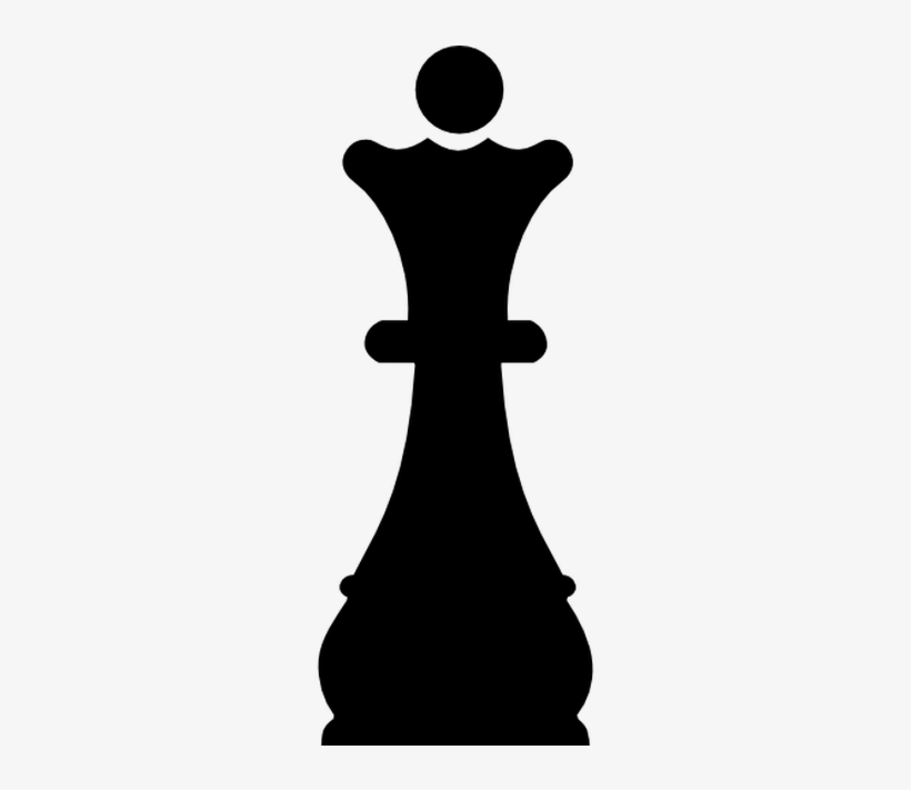 Svg Freeuse Download Chess Vector Queen.