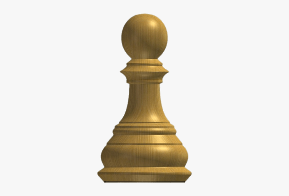 Download Wooden Chess Pawn Transparent Png.