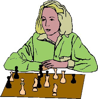 Chess player clipart #9