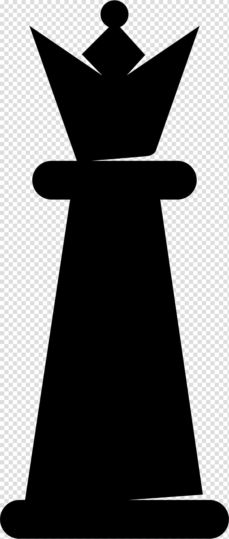 Chess piece Queen King, chess transparent background PNG.