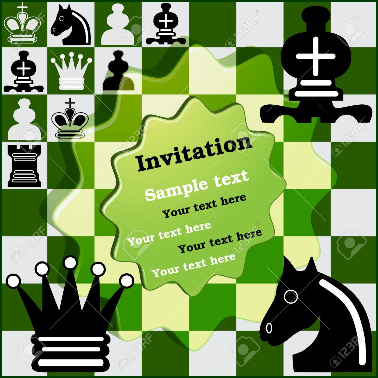 Invitation Chess Tournament Royalty Free Cliparts, Vectors, And.