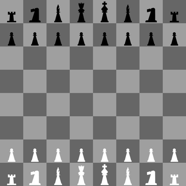 Chessboard clip art Free Vector / 4Vector.