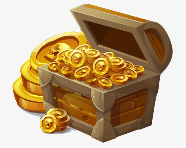 Treasure Chest, Gold, Money, Coin PNG An #45504.