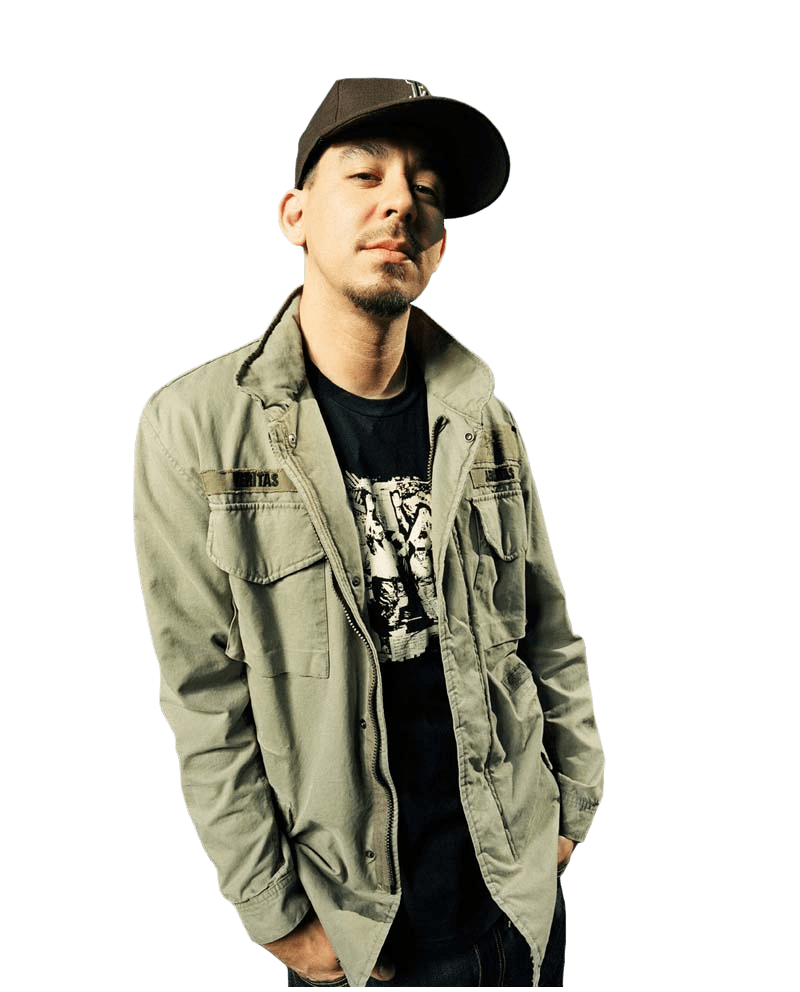 Mike Shinoda transparent PNG.