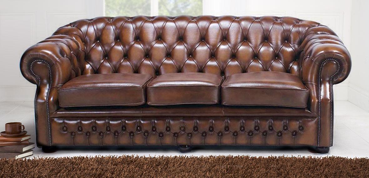 Handmade Chesterfield Sofas.