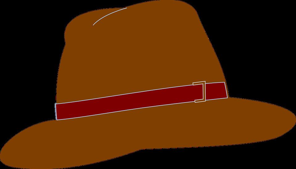 Brown, Hats.