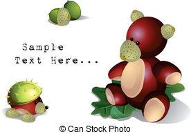 Chestnut shell Vector Clipart Illustrations. 52 Chestnut shell.