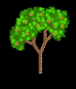 Chestnut Tree Clipart.