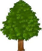 Chestnut Tree Clip Art.