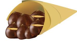 Chestnuts Stock Illustrations.