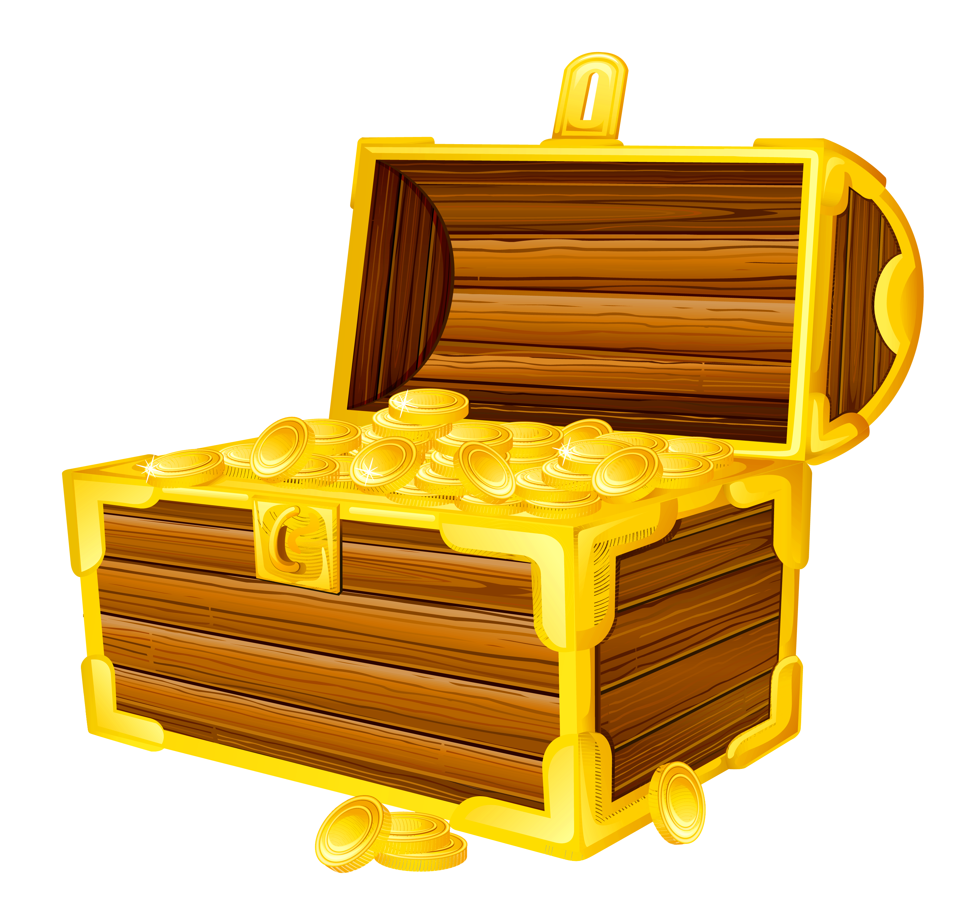 Free locked treasure chest clip art.