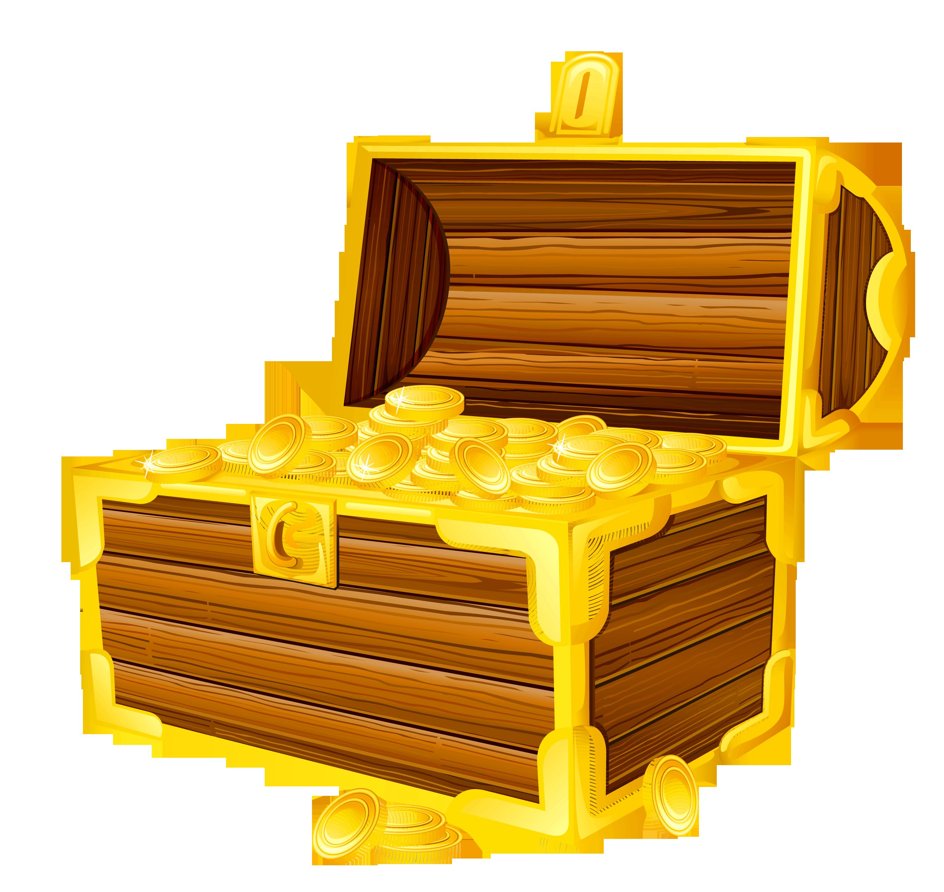 Free locked treasure chest clip art.