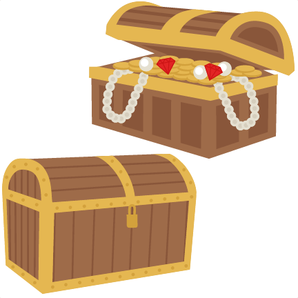 Treasure chest clipart free clipart images 3.