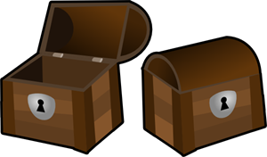 Treasure Chests PNG, SVG Clip art for Web.