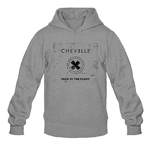Amazon.com: XIULUAN Men\'s Chevelle Band Logo Hard Rock.
