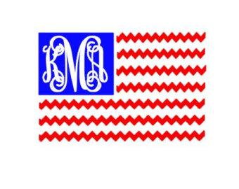 American flag svg.