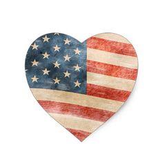 USA Flag Flower Decor PNG Clipart.