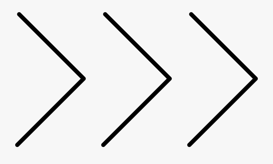 Three Chevron Arrows Pointing Right Svg Png Icon Free.