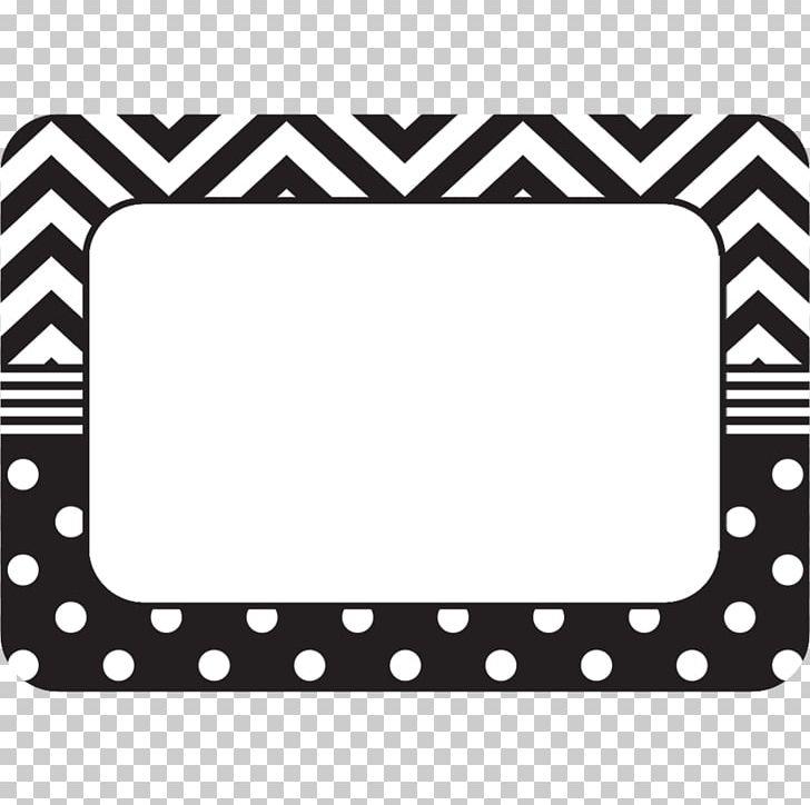 Chevron Corporation Paper Wedding Invitation Name Tag White.