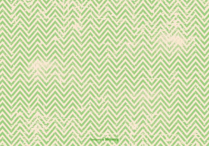 Green Grunge Chevron Background.