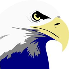 eagle head clip art.