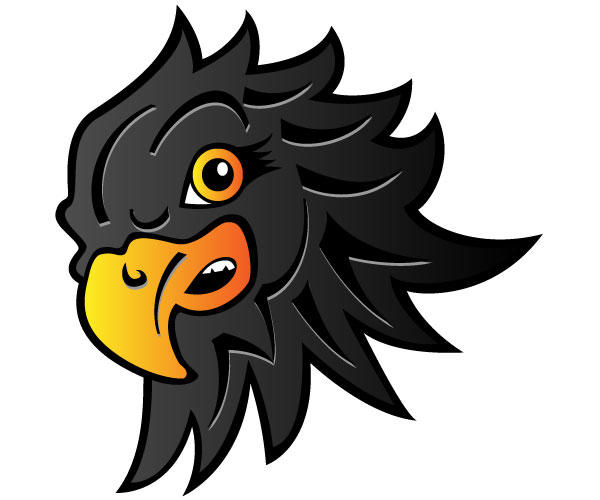 Eagle Head Vector.