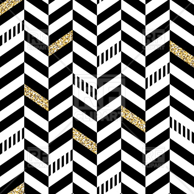 Classic seamless chevron pattern Vector Image.