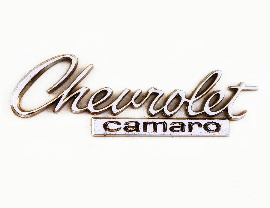 Chevrolet Camaro Emblem.