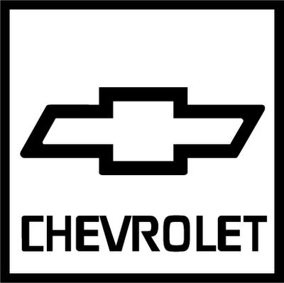 Auto Cars Logos: Chevrolet Logo.