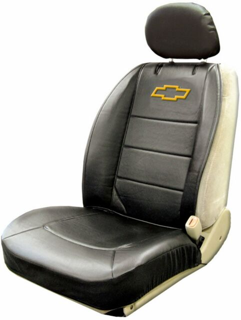 Plasticolor 008586R01 Chevy Logo Sideless Seat Cover.