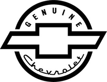 chevy logo stickers #5