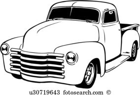 Pickup truck Clipart and Illustration. 1,887 pickup truck clip art.