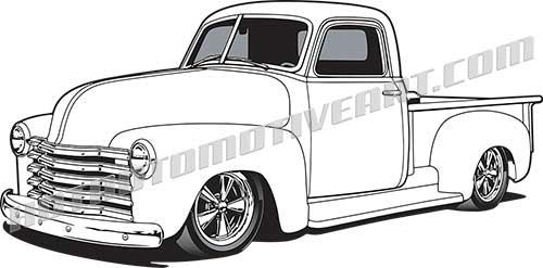 1950 Custom Pickup Truck.