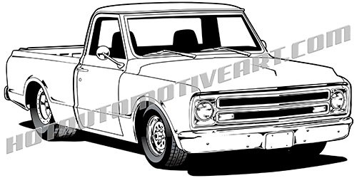 Chevy pickup truck clipart 3 » Clipart Portal.