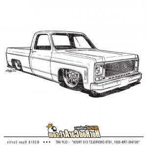 Chevrolet C Truck Clip Art.