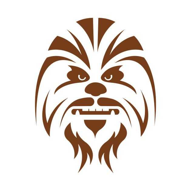 Chewbacca clipart simple, Chewbacca simple Transparent FREE.